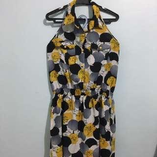 Backless Summer Dress