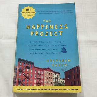 The Happiness Project By Gretchen Rubin (Paperback)