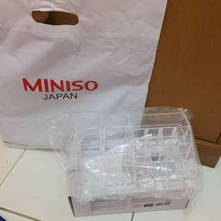 Acrylic Cosmetic & Jewelry Organizer Miniso