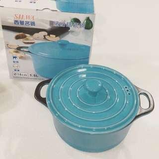 SILWA西華名鍋 繽紛鑄瓷鍋 18cm/1.5L