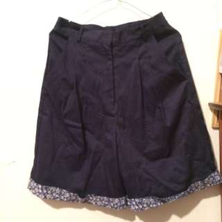 BRAND NEW navy culottes