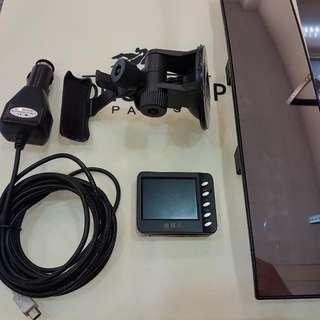 高雄 偵查兵 行車記錄器 功能正常/附腳架及電源線 再送廣角後照鏡
