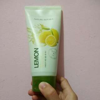 Nature republic Real Nature Peeling Gel Wash