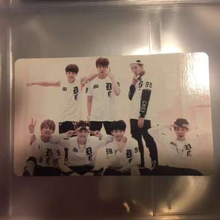 O!URL8,2? Official Group Photocard