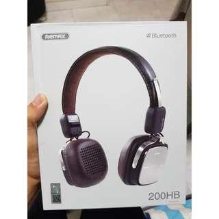 BRAND NEW Remax 200HB Wireless Bluetooth 4.1 Headphones