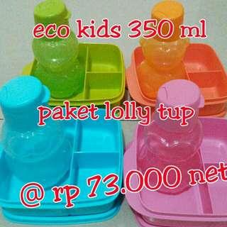 Paket Eco Kids 350ml Dan Lolly Tup