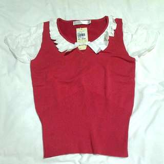BNWT WOVEN BLOUSE BYSI 70% DISCOUNT