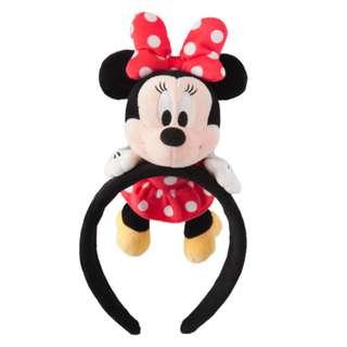 Japan Tokyo Disneyland Disneysea Disney Resorts Land Sea Headband Minnie Mouse 2017