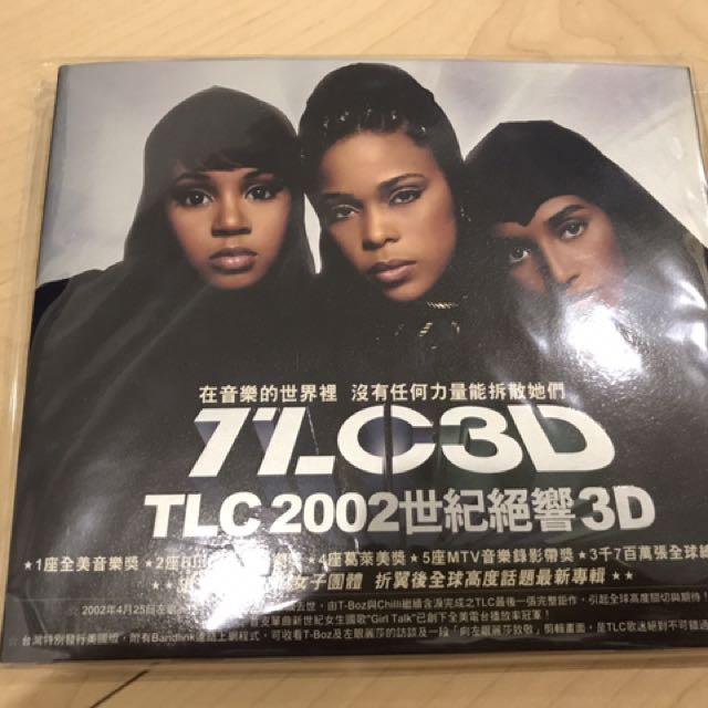 2002年世紀絕響 TLC /3D 經典最後專輯