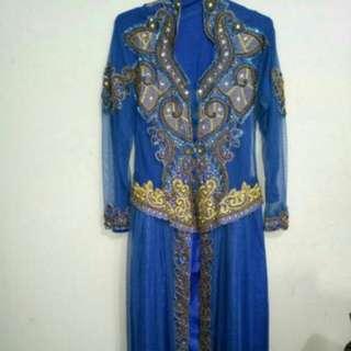 Kaftan Dress Muslimah Kondisi 95%