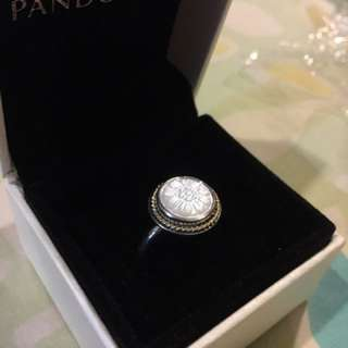 Pandora 絕版 母貝 戒指 50