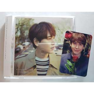 SUPER JUNIOR KYUHYUN CELEBRATION JAPAN [CD & PHOTOCARD]