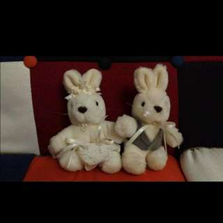 結婚公仔 兔仔