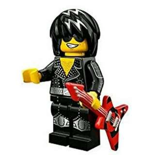 Lego Minifigures Series 12 - Rockstar