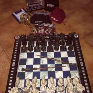 Original Harry Potter Chess Set, Magazines And Much More