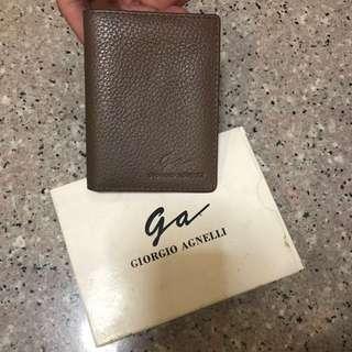 Cardholder Giorgio Agnelli