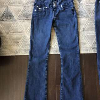 True Religion Boot Cut Jeans