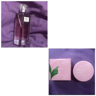 ❤️TAKE ALL - PAKET HEMAT ❤️Gucci Flora Parfum & Botanica Acne Loose Foundation