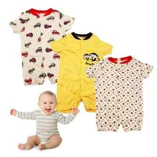 Babies 3 Pack Romper