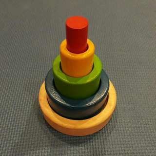 Wooden Stacker (Educational Toy For Toddlers)