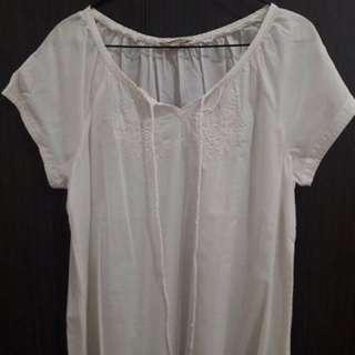 Et Cetera Summer White Shirt