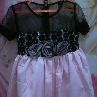 Dress Anak Import(2-3 Thn) Tergantung Ukuran Dan Berat Badan Anak
