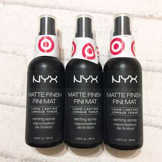現貨🇺🇸NYX nyx Professional Makeup Setting Spray Matte Finish 60ML 霧面定妝噴霧