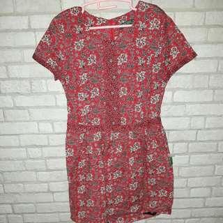 Point One Batik Dress