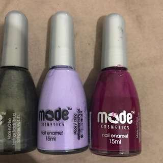 Set Of 4 Mode Nail Polish