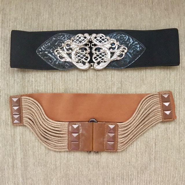 2 Wide Strecth Belts