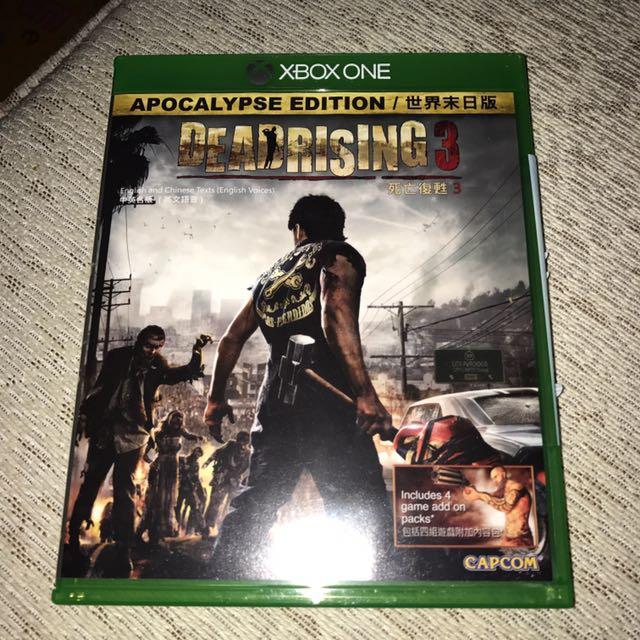 便宜賣死亡復甦3 Dead Rising 3 Xbox One 實體光碟