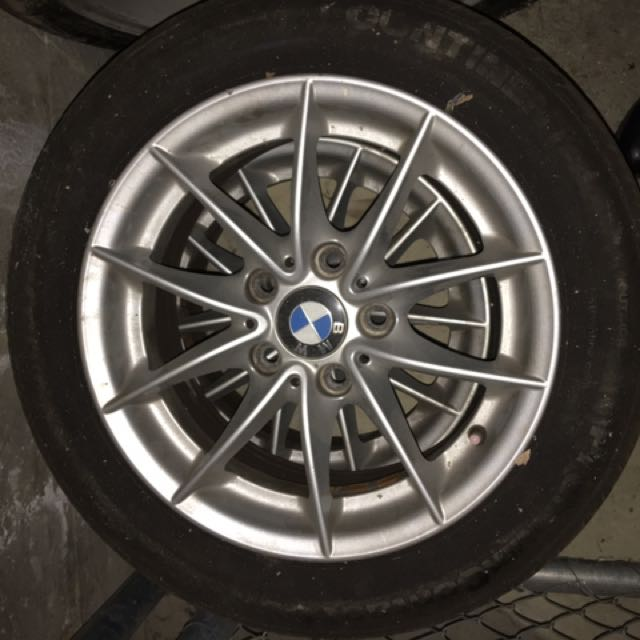 4 Original BMW Rims With Tyers