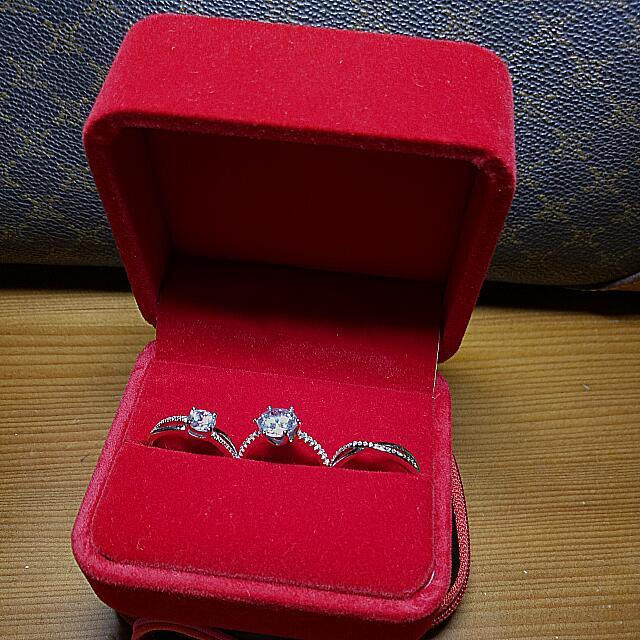 925純銀鑲鑽系列戒指