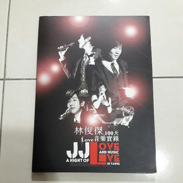 林俊傑 100天 音樂實錄DVD
