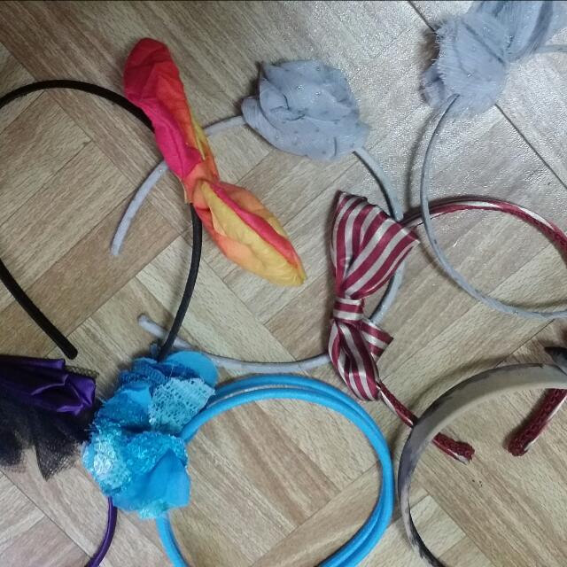 髮箍(七個一起賣)可換物