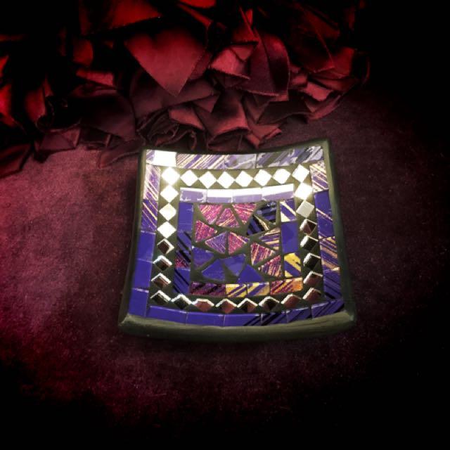 菸灰缸/幻彩紫❤️