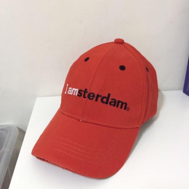 全新阿姆斯特丹紀念帽🎩(歐洲帶回)
