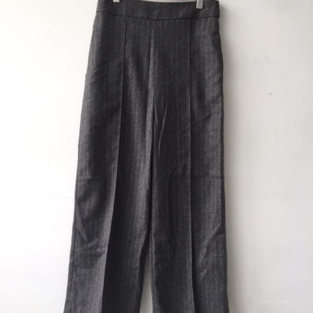休閒西裝褲(深灰)