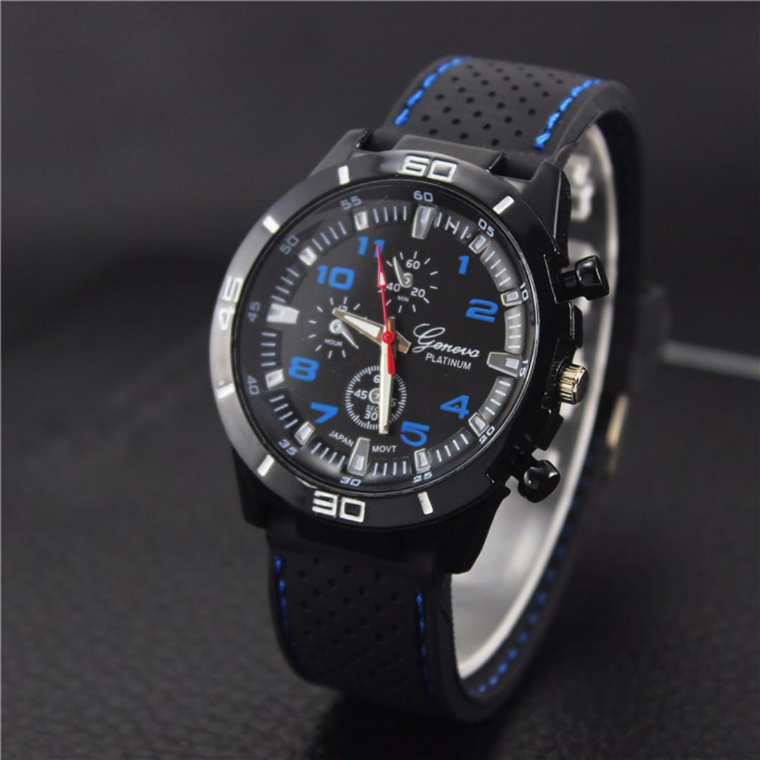 🆒 Geneva Platinum F1 Racer Watch