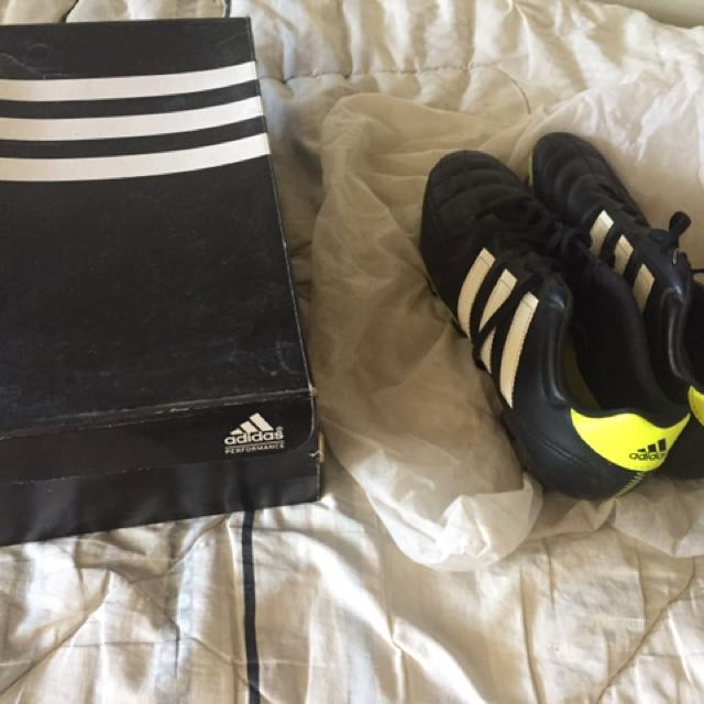Adidas Cleats Original With Box And Dust Bag