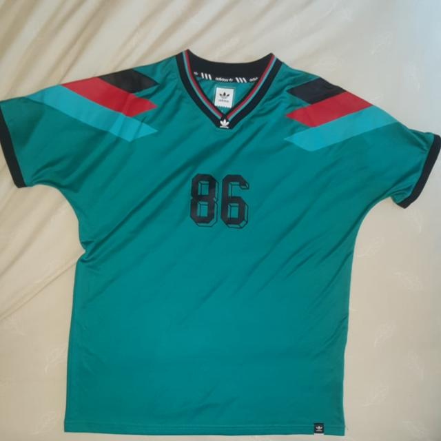 Adidas Originals Skateboarding Silas 'Copa Germany' Jersey Size L