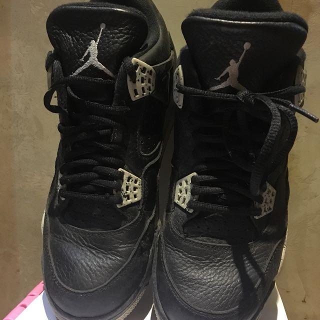 Aj Air Jordan 4 Retro Low Oreo Yeezy Nmd 黑魂 極罕