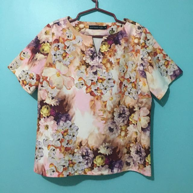 Apartment 8 Floral Blouse