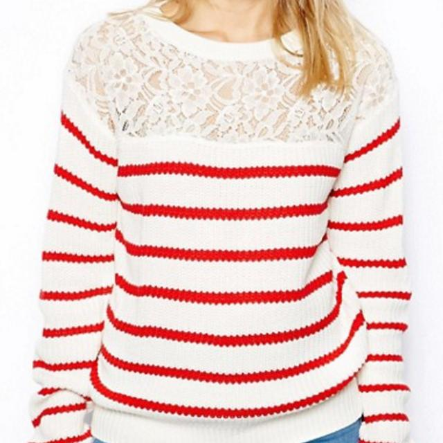 ASOS - LACE SWEATER