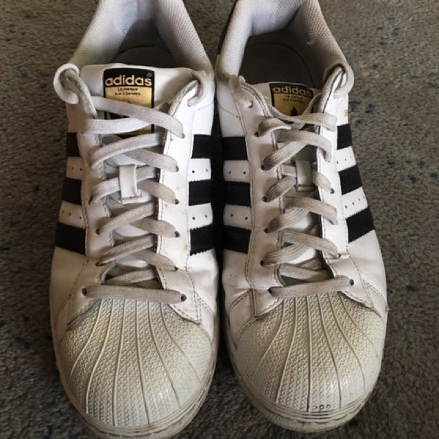 Authentic Adidas Superstars