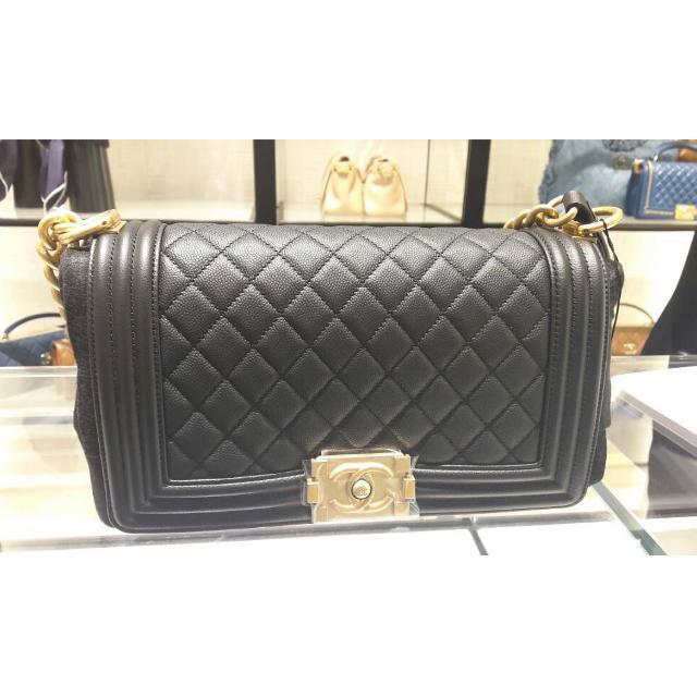 Authentic Chanel Boy Medium 25cm Flap Bag ff9a3f50b1