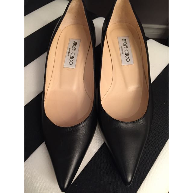 Authentic Jimmy Choo Kitten Heels
