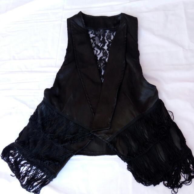 Black Vest (Cowboy/Coachella Party)
