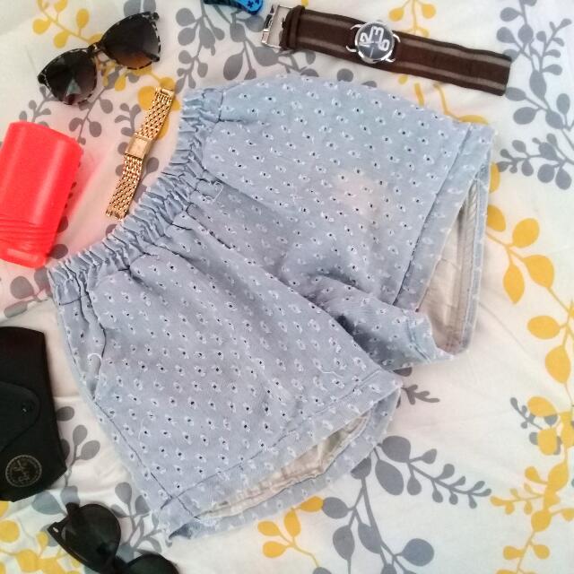 Blue Shorty Jeans Like🌸
