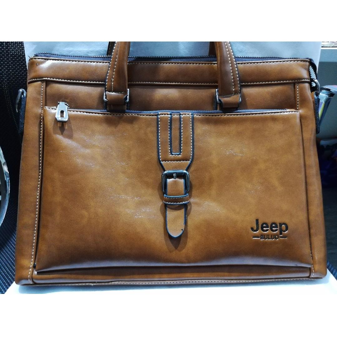 e4ef7648c6 Brand New JEEP Men Briefcase / Executive Laptop Bag, Men's Fashion ...